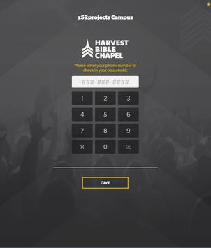 Harvest Bible Chapel - eRegister App poster