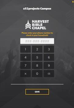 Harvest Bible Chapel - eRegister App apk screenshot