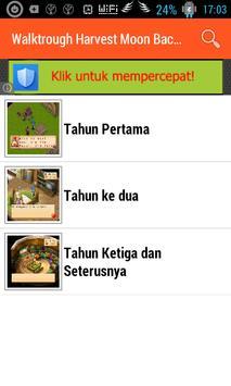 Walkthrough Harvestmoon BTN apk screenshot