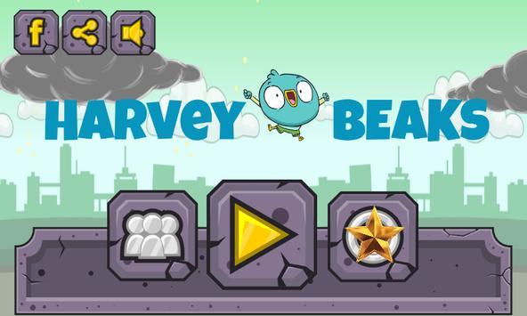 Super harvey beaks Adventure poster