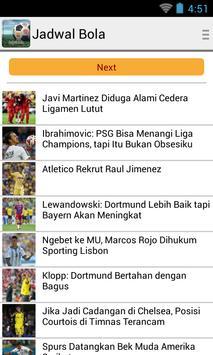 Jadwal bola apk download free sports app for android apkpure jadwal bola poster jadwal bola apk screenshot stopboris Image collections
