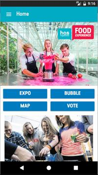 Food Experience 2018 - HAS Hogeschool poster