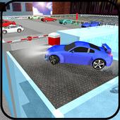 Extreme Multi-Storey Crazy Car Parking Simulator icon