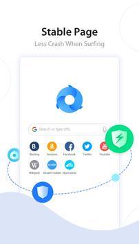 Turbo Browser: Private & Adblocker & Fast Download apk 截图
