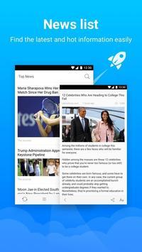 Turbo Browser: Private & Adblocker & Fast Download apk screenshot