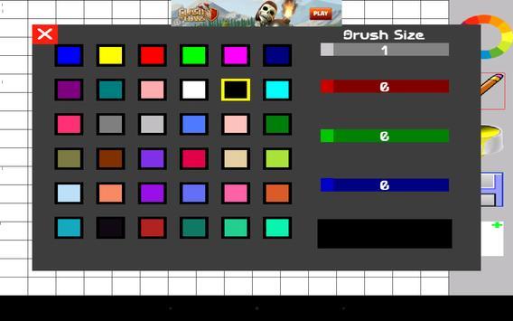 PixelHawk2 - Pixel Art Creator screenshot 5