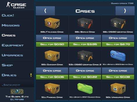 Case Clicker apk screenshot