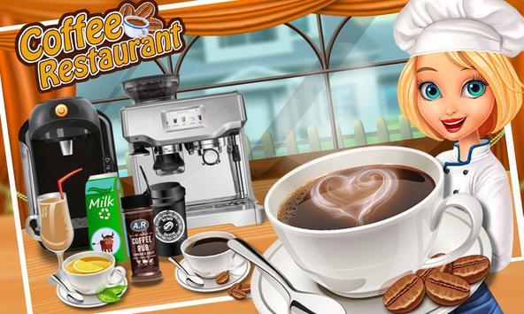 Coffee Break Maker Shop - My Sweet Dessert Game poster