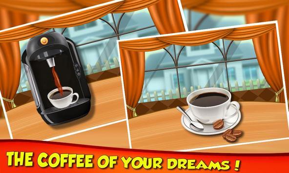 Coffee Break Maker Shop - My Sweet Dessert Game screenshot 2