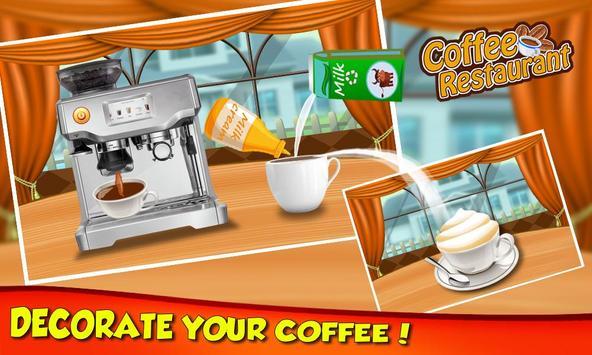 Coffee Break Maker Shop - My Sweet Dessert Game screenshot 3