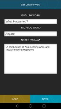 Learn Tagalog Assistant screenshot 5