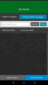 Learn Tagalog Assistant screenshot 2