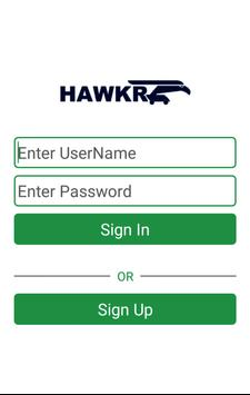 HAWKR Online B2B Marketplace poster