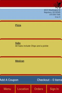 Hawks Pizza screenshot 1