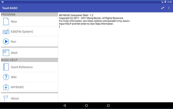 Touch BASIC screenshot 8