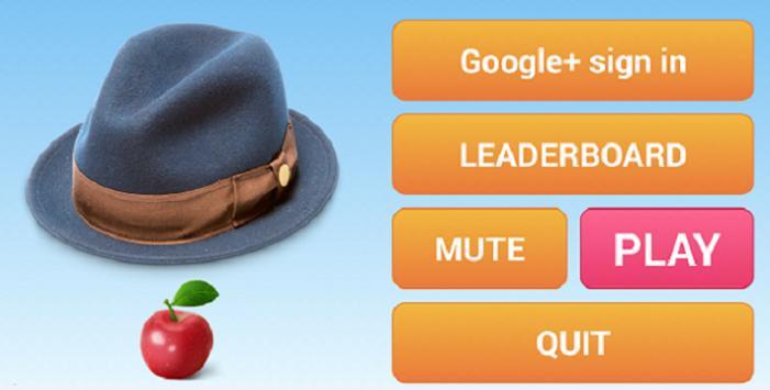 Hat and apple apk screenshot