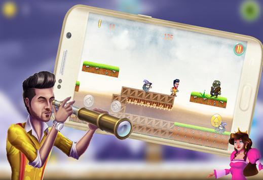 لعبة مغامرات وليد الشامي apk screenshot