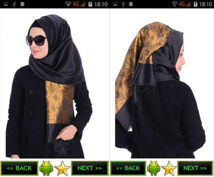 Scarf, shawl models screenshot 9