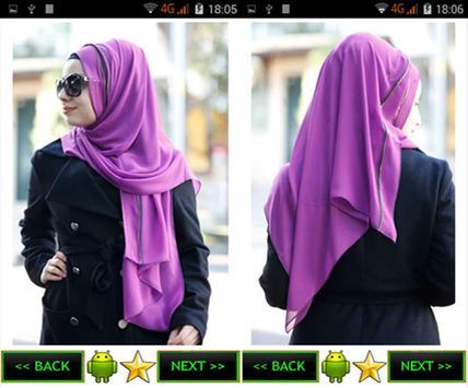 Scarf, shawl models screenshot 2