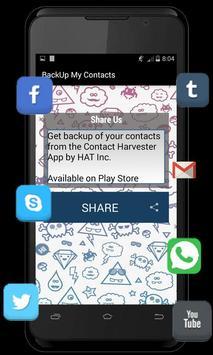 Backup My Contacts screenshot 4