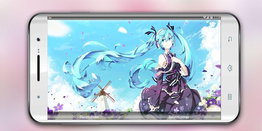 Live Wallpaper Of Hatsune Miku Anime For Android Apk Download