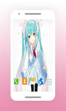 Fan Art Hastane Miku Wallpapers screenshot 2