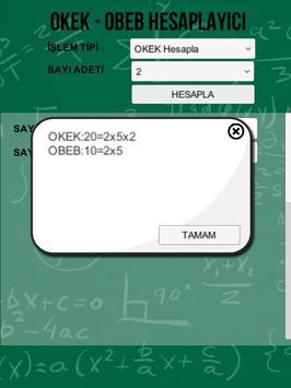 OKEK OBEB Hesaplayıcı screenshot 1
