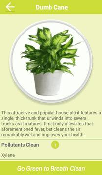Air Cleaning Plants apk screenshot