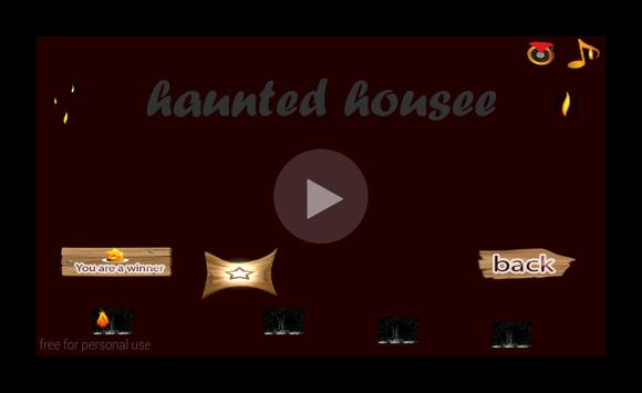 Ghost in a haunted house apk screenshot