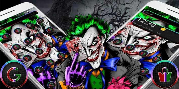 Haunted Joker Theme स्क्रीनशॉट 3
