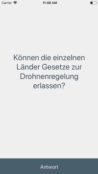 Drohnen Quiz - Führerschein Prüfung apk screenshot