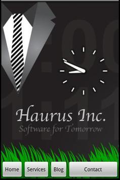 Haurus Inc poster