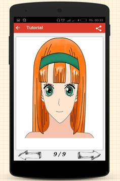 Draw Anime Christmas apk screenshot