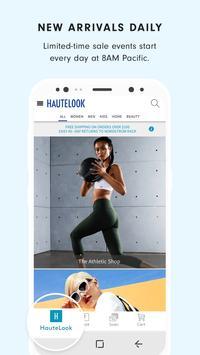 HauteLook screenshot 1