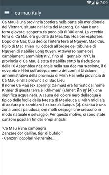 Camau Itali screenshot 1