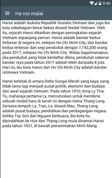 Hanoi Malai apk screenshot