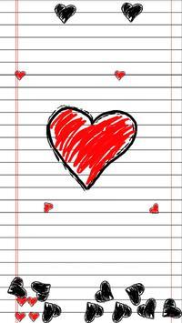 Doodle Heart apk screenshot