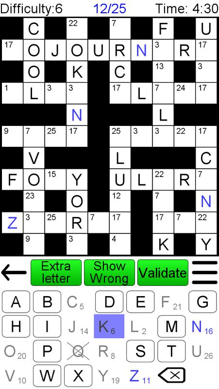 Kreuzwort Zahlenrätsel Für Android Apk Herunterladen