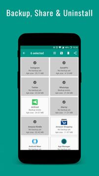 App Manager - Backup, Share & Uninstall Apps (Unreleased) apk screenshot