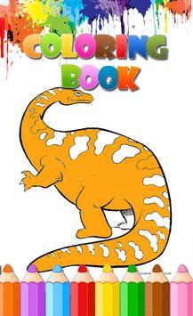 Dinosaurus Coloring Book 2018 screenshot 1