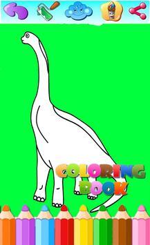 Dinosaurus Coloring Book 2018 screenshot 2
