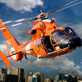 911 Helicopter Ambulance emergency Rescue Game 3D icon