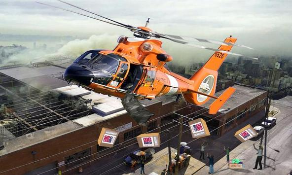 911 Helicopter Ambulance emergency Rescue Game 3D screenshot 14