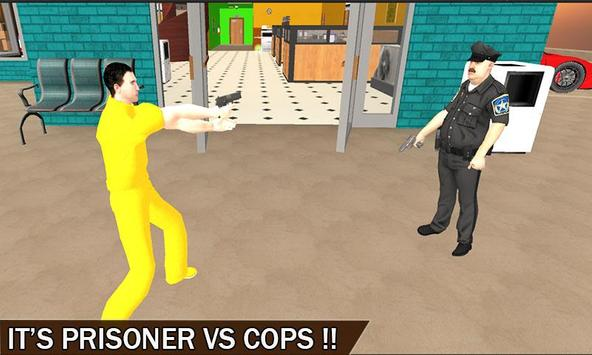 Prisoner Bank Robbery - Heist poster