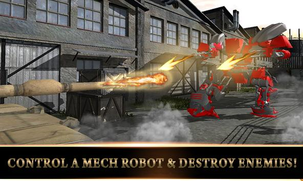 Army US Tank Transform Robot 2 screenshot 9