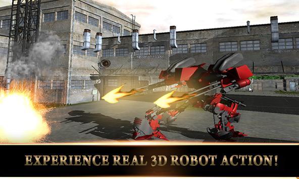 Army US Tank Transform Robot 2 screenshot 10