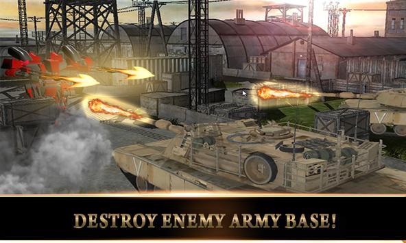 Army US Tank Transform Robot 2 screenshot 11