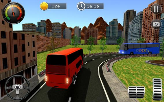 Uphill Off Road Bus City Coach Bus Simulator 2018 screenshot 6