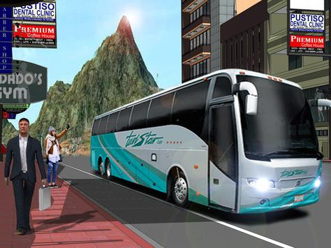 Uphill Off Road Bus City Coach Bus Simulator 2018 screenshot 9