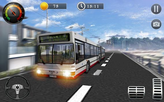 Uphill Off Road Bus City Coach Bus Simulator 2018 poster